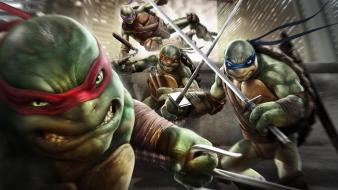 Teenage mutant ninja turtles shadows game wallpaper