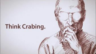 Think different steve jobs crabs aiura Wallpaper