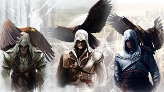 Video games assassin assassins creed brotherhood wallpaper