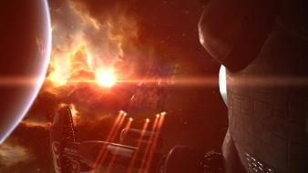 Video games outer space eve online spaceships wallpaper