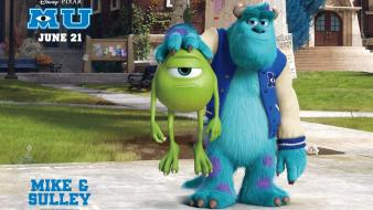 Wazowski sulley monsters university james p. sullivan Wallpaper