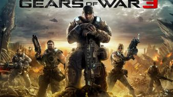 2011 Gears Of War 3 wallpaper
