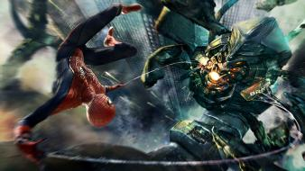 Amazing Spider Man Boss Fight Wallpaper