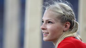 Blondes russia athletes darya klishina russians wallpaper