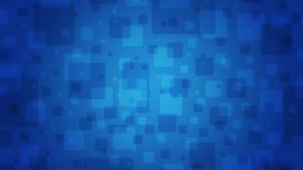 Blue Squares Wallpaper