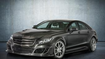 Carbon fiber static mansory mercedes benz cls wallpaper