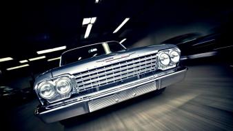 Cars 1962 chevrolet bel air impala wallpaper