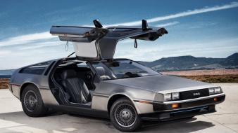 Cars delorean dmc-12 wallpaper