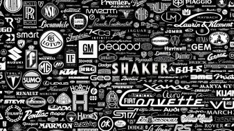 Cars quotes brands logos wallpaper