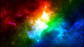 Colors In Space wallpaper