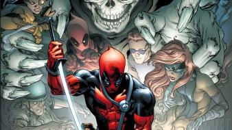 Deadpool wade wilson marvel comics Wallpaper