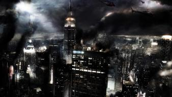 Empire State Destruction wallpaper
