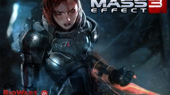 Female Shepard In Mass Effect 3 wallpaper