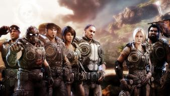Gears Of War 3 Xbox Game Hd wallpaper