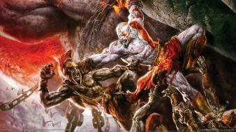 God Of War 2 Game Hdtv Hd wallpaper
