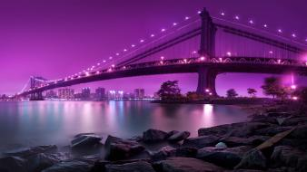 Manhattan Bridge New York City wallpaper