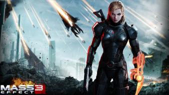 Mass Effect 3 Female Shepard Hd wallpaper