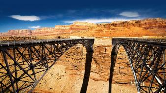 Navajo Bridge Over Colorado River wallpaper