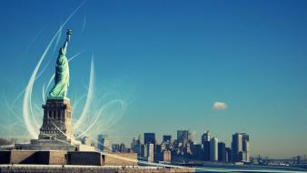 New Yorks Statue Of Liberty Wallpaper