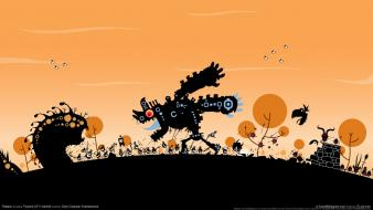 Patapon Game Hd wallpaper