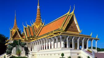 Royal palace cambodia wallpaper