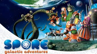 Spore Galactic Adventures Game wallpaper