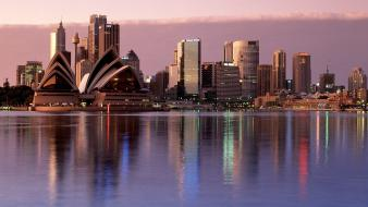 Sydney reflections australia wallpaper