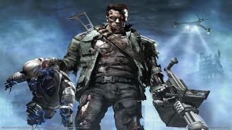 Terminator Console Game Hd wallpaper