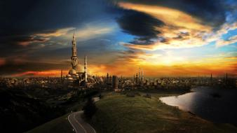 The City Of A Thousand Minarets Hd Wallpaper