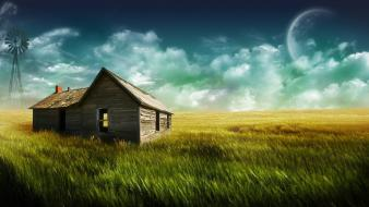 The Farm House Hd 1080p wallpaper