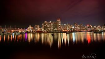 Vancouver City Nights wallpaper