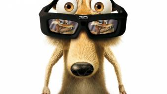 3d htc ice age funny scrat wallpaper