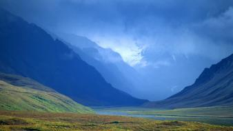 Arctic landscapes mountains nature valleys wallpaper