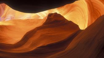 Arizona slot canyons caves deserts nature wallpaper