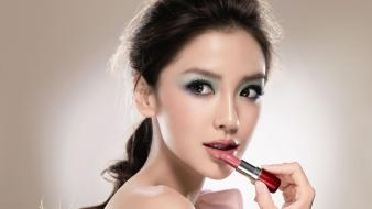 Asians angelababy lipstick Wallpaper