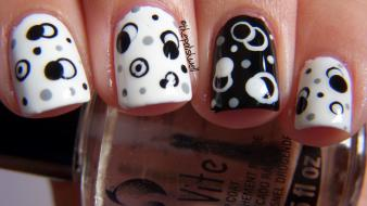 Black nail designs wallpaper