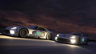 Cars le mans srt viper gts wallpaper