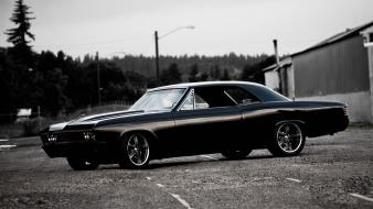 Chevelle ss muscle car classic chevy custom Wallpaper