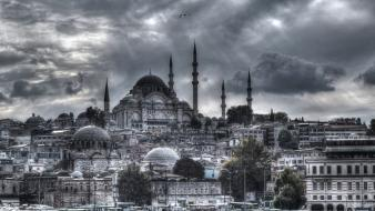 Eminonu hdr photography istanbul turkey cities wallpaper
