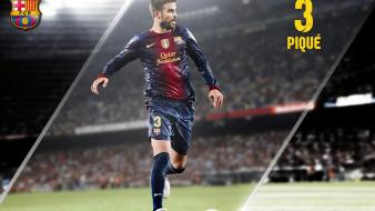 Fc barcelona pique football teams sports wallpaper