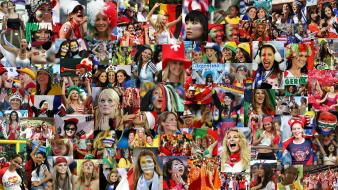 Fifa world cup cheers fans public wallpaper