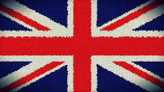 Flags united kingdom union jack digital art wallpaper