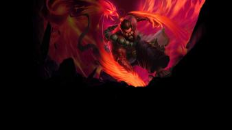 Games spirit guard legendary skin phoenix stance wallpaper