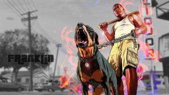 Grand theft auto v gta 5 chop wallpaper