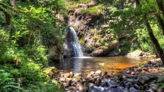 Hdr photography landscapes nature waterfalls Wallpaper
