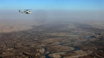 Isaf helmand rotary wing greenzone ah-1 supercobra wallpaper