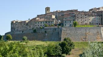 Italia italy anghiari landscapes medieval buildings wallpaper