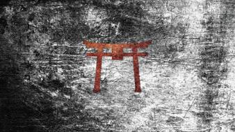 Kamigawa magic: the gathering symbols torii Wallpaper