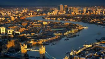 London blue bridges buildings cityscapes wallpaper