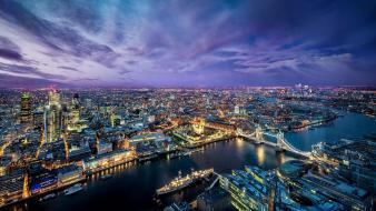 London buildings city lights cityscapes evening wallpaper